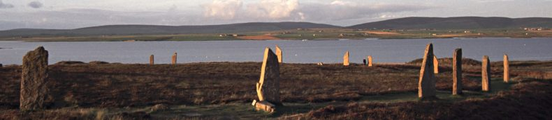 Orkney - scene of Dorothy's book King Hereafter