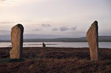 Twilight at the Ring of Brodgar