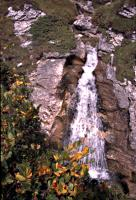 Waterfall above Klosters